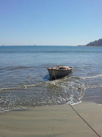 Stone Island (Isla de las Piedras):                   Stone Island Boat