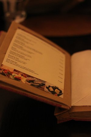 Borobudur Ristorante Indonesiano:                   Sample of one of the pages