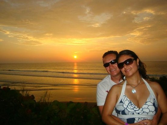 Royal Decameron Mompiche:                   Sunset at Decameron