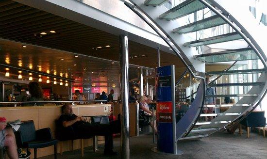 Norfolkline Dunkerque : DFDS ferry, Dunkerque-Dover (interior)