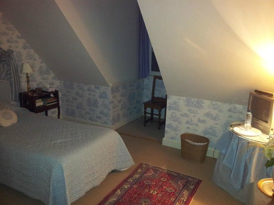 Chateau d'Osthoffen : Bedroom