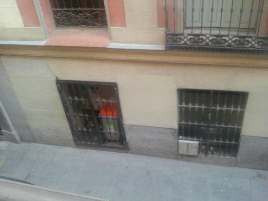 Petit Palace Posada del Peine:                                     vista del balcon