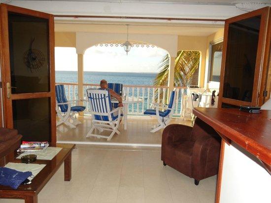 Sunsea Atlantide Residence Hotel :                   vue de la terrasse