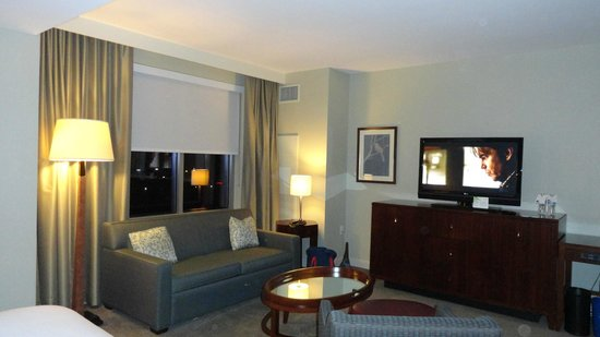 Westin Reston Heights:                                     Living Room Area