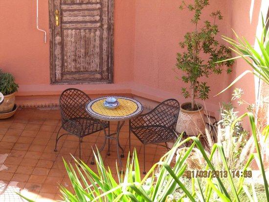 Riad Amira Victoria:                   Roof Terrace