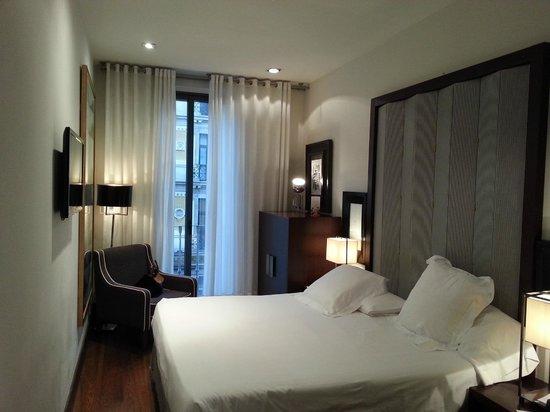 Hotel Pulitzer: La chambre
