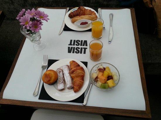 Hotel Pulitzer: Le petit déjeuner