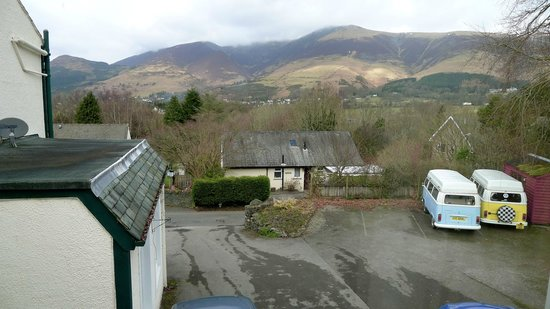 Skiddaw Grove:                   View from the double room.