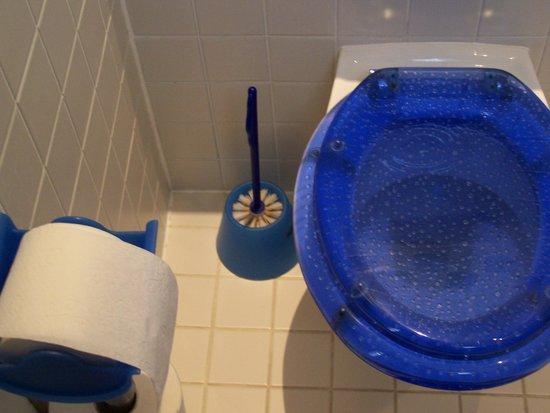 Hotel Art Nouveau:                   Toilette und WC-Bürste