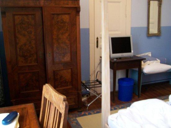Hotel Art Nouveau:                   Unser Zimmer