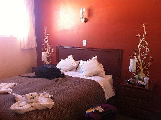 Andean South Inn:                   Cama