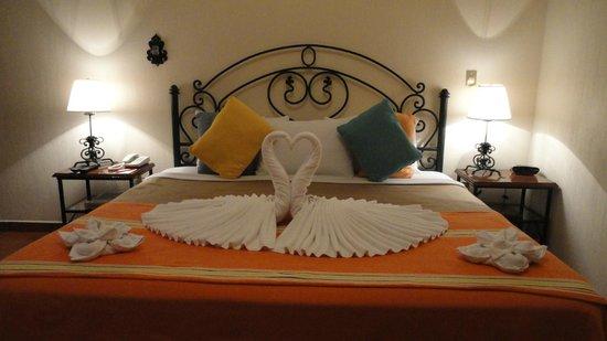 Hotel Boutique Parador San Miguel Oaxaca: Cortesia nocturna