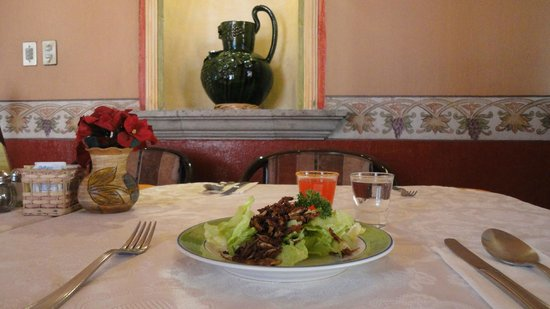 Hotel Boutique Parador San Miguel Oaxaca: Restaurante El Andariego