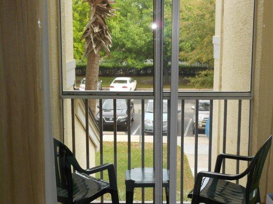 Grande Villas Resort:                   Vue sur le stationnement