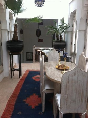Riad Safa:                   Communal area