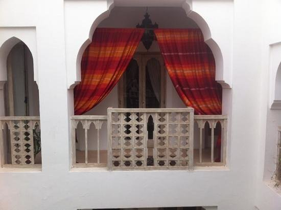 Riad Safa:                   Balcony view