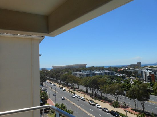 Protea Hotel by Marriott Cape Town Cape Castle: View of the World Cup Football stadium from our room.