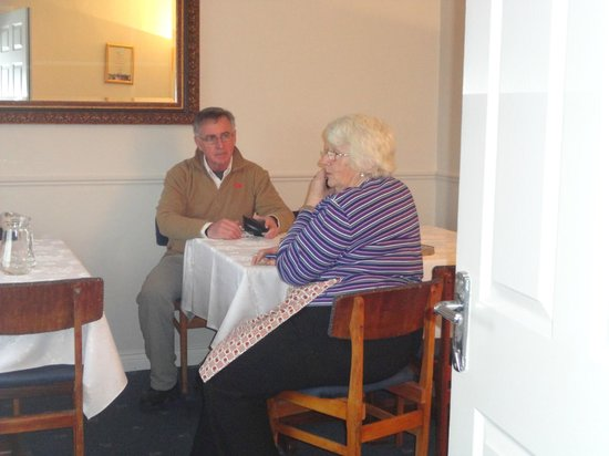 Ard Na Greine:                   Norma and Jim chat over breakfast.