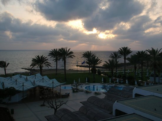 Constantinou Bros Athena Beach Hotel: View from our room