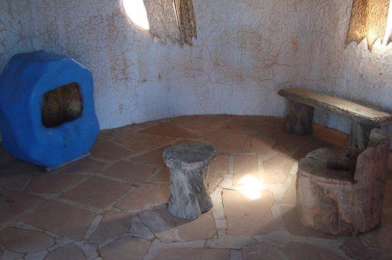 Flintstone's Bedrock City:                                     a room