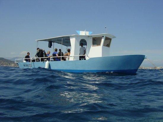 Bateau Spondylia, Easy Dive, Cap d'Antibes, Juan les Pins