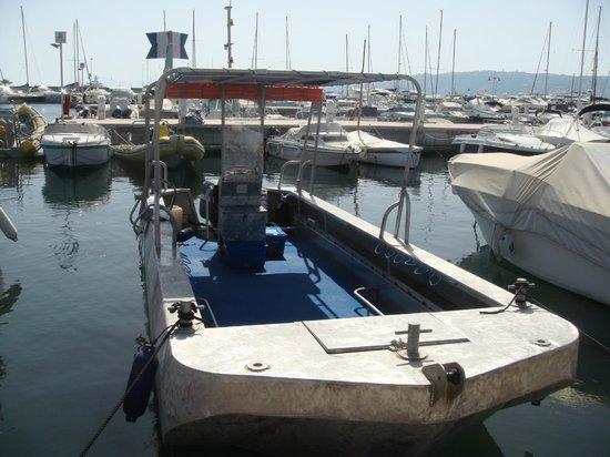 Bateau Sacrebleu, Easy Dive, Cap d'Antibes, Juan les Pins