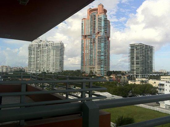 Hilton Bentley Miami/South Beach:                   vista do quarto
