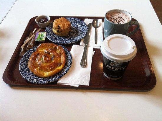 National Library of Ireland: Breakfast @ Jolies