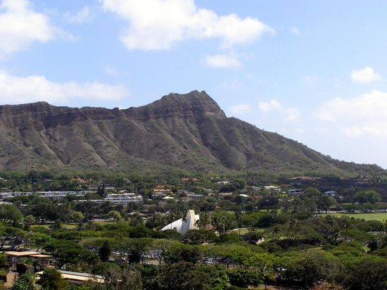 Queen Kapiolani Hotel: View of Diamond Head