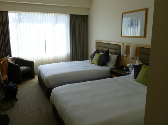 Novotel Rotorua Lakeside: Room without a view