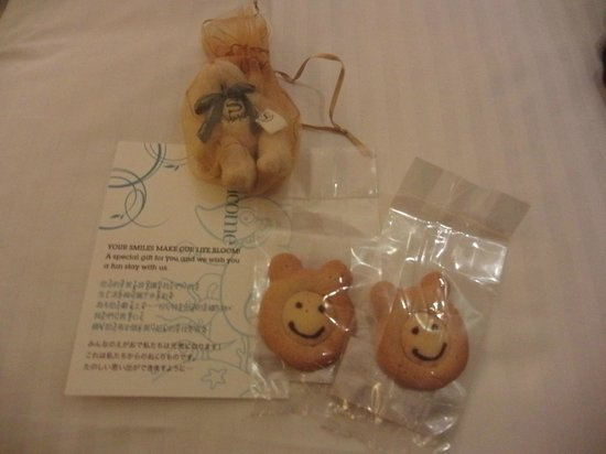 Sheraton Grand Taipei Hotel:                   プレゼント