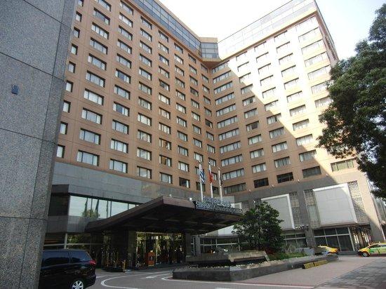 Sheraton Grand Taipei Hotel:                   外観