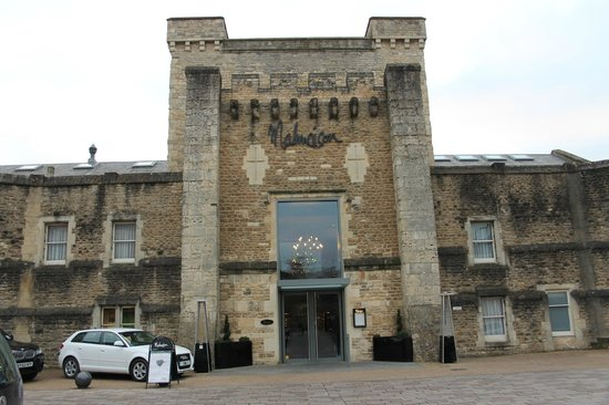 Malmaison Oxford Castle:                   Front entrance