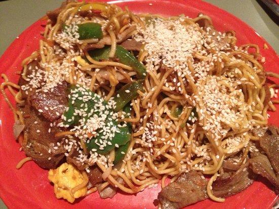 HuHot Mongolian Grill:                                                       Food :)