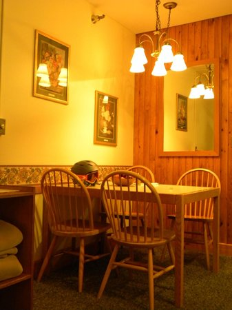 The Crafts Inn: nice dining nook