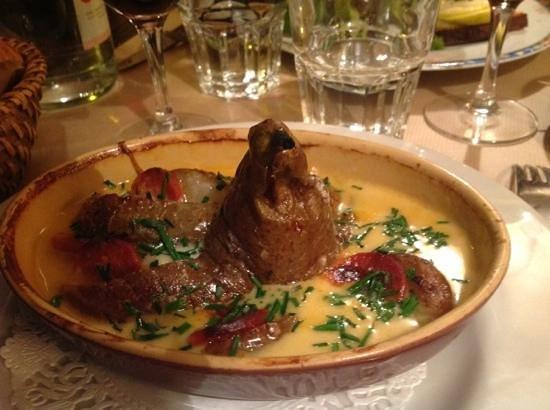L'estrapade :                   il mio antipasto al Roquefort