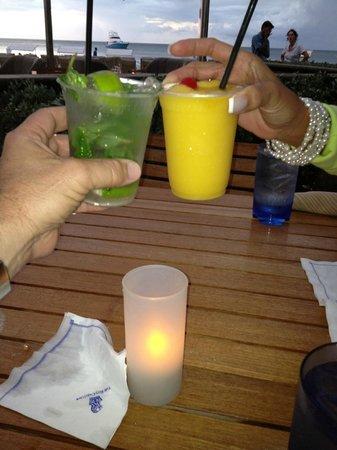 The Ritz-Carlton, Grand Cayman:                   Cheers!