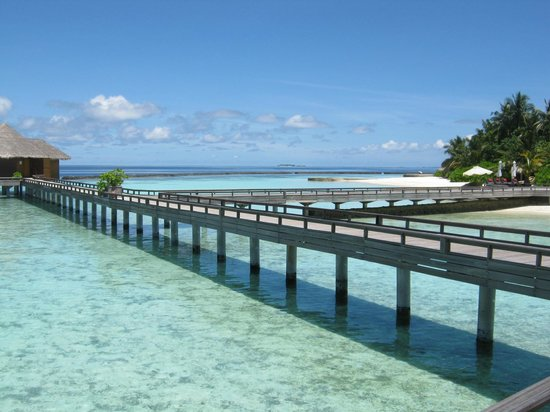 Baros Maldives: The board walk