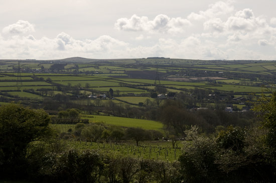 Delamere Self Catering Cornwall: The View