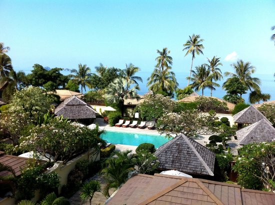 The Sunset Beach Resort & Spa, Taling Ngam:                   the view from our room