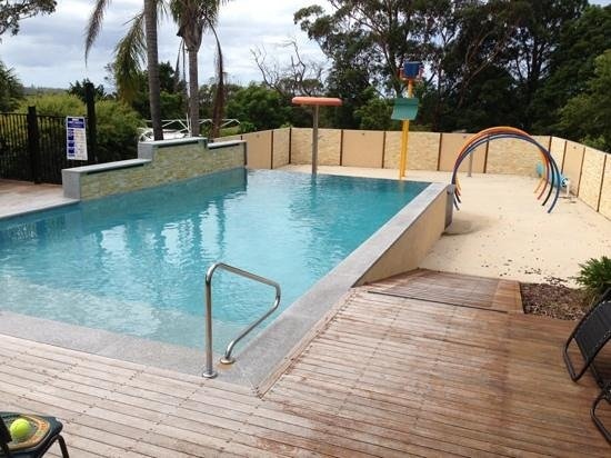Mollymook Caravan Park:                                     pool area. beach not far away