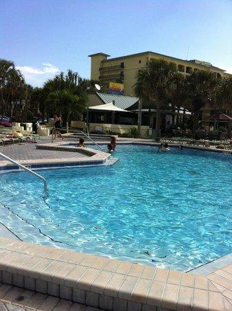Sirata Beach Resort:                   Fabulous heated pool