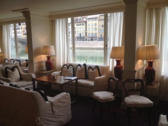 Hotel Lungarno:                   Lobby
