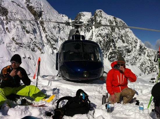 Powder Mountain Cat and Heli Skiing:                   Lunch