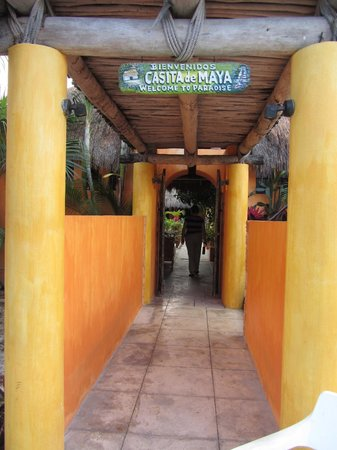 Entrance to Casita de Maya