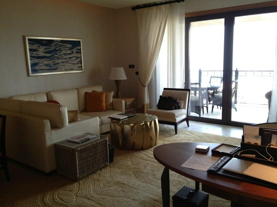 The St. Regis Saadiyat Island Resort, Abu Dhabi:                   Ocean Suite