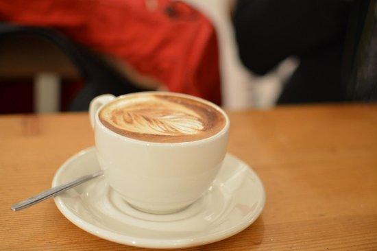Box Brownie Coffee:                   Caffe Latte