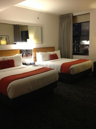 St. Jane Hotel:                   The room