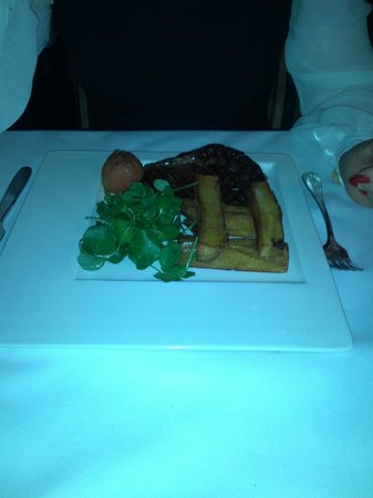 David Ferguson at The Belmont:                   steak