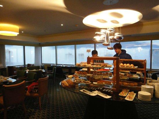 Santiago Marriott Hotel: wonderful executive level